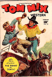 Tom Mix Western Comics #4 1949
