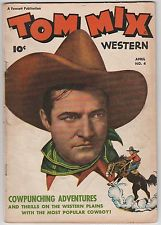 Tom Mix Western Comics  #4