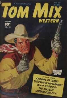 Tom Mix Western comics