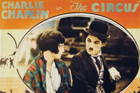 Chaplin The Circus lobby card