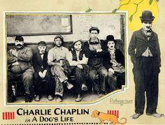 Charlie Chaplin A Dog's Life lobby card