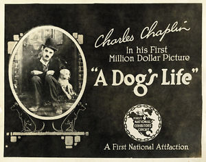 Charlie Chaplin A Dog's Life poster