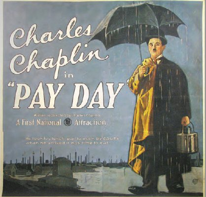 Charlie Chaplin Pay Day poster