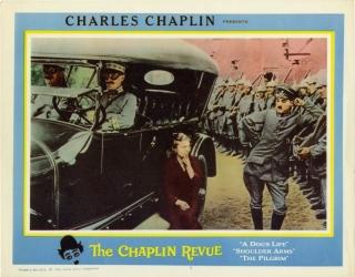 Charlie Chaplin Shoulder Arms (1918) lobby card