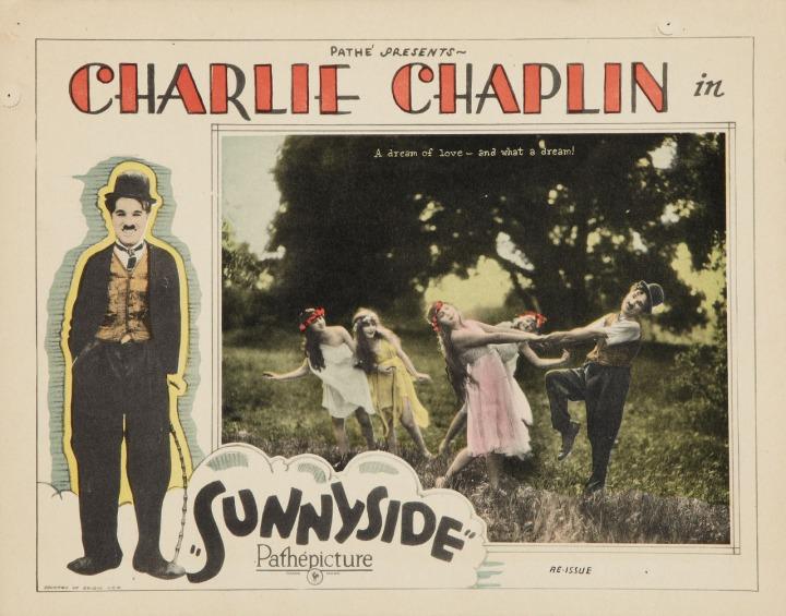 Charlie Chaplin Sunnyside (1923) lobby card