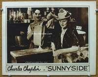 Charlie Chaplin Sunnyside (lobby card)