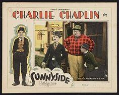 Charlie Chaplin Sunnyside lobby card.