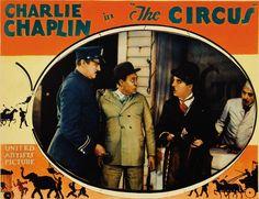 CHARLIE CHAPLIN THE CIRCUS lobby card.