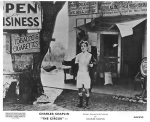 CHARLIE CHAPLIN THE CIRCUS lobby card