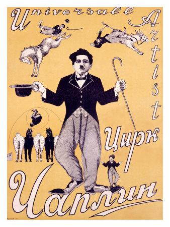 CHARLIE CHAPLIN THE CIRCUS poster