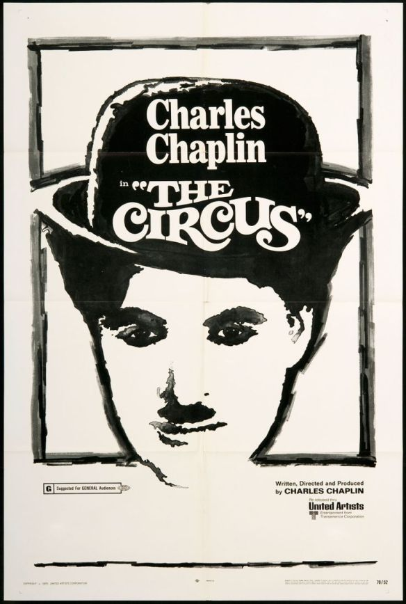 CHARLIE CHAPLIN THE CIRCUS poster