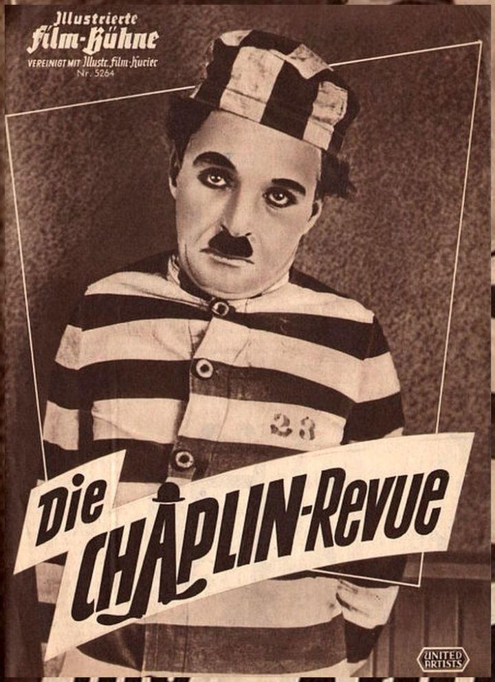 Charlie Chaplin The Pilgrim (1923) Chaplin Revue