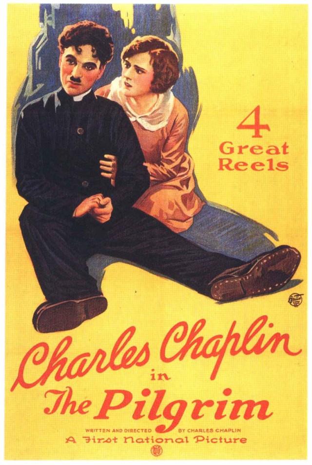 Charlie Chaplin The Pilgrim (1923) poster