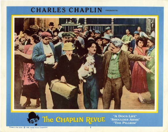 THE CHAPLIN REVUE lobby card