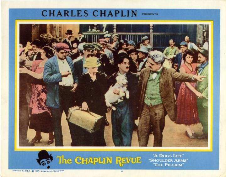 THE CHAPLIN REVUE lobby card