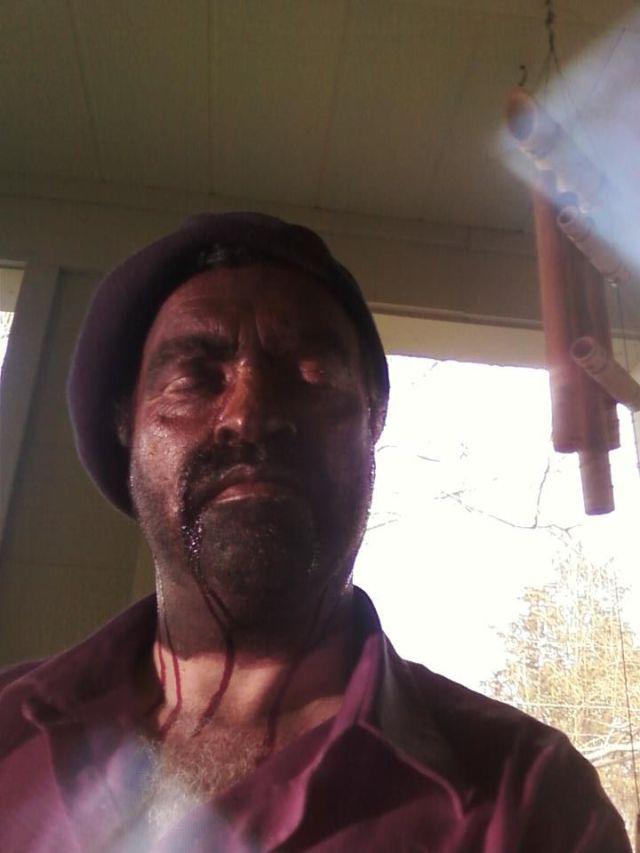 Alfred Eaker as Gauguin in La ...