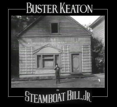 Buster Keaton Steamboat Bill jr