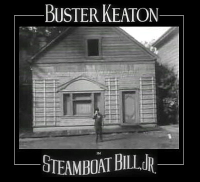 Buster Keaton Steamboat Bill jr