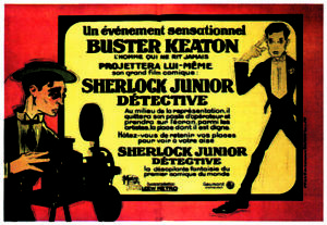 sherlock jr. Buster Keaton