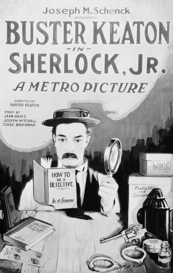 Sherlock Jr.Poster