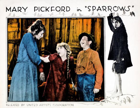 MARY PICKFORD SPARROWS lobby