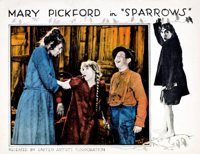 MARY PICKFORD SPARROWS lobby