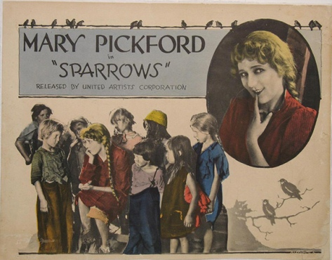 MARY PICKFORD SPARROWS lposter