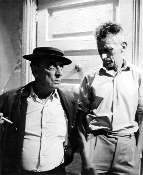 Samuel Beckett & Buster Keaton