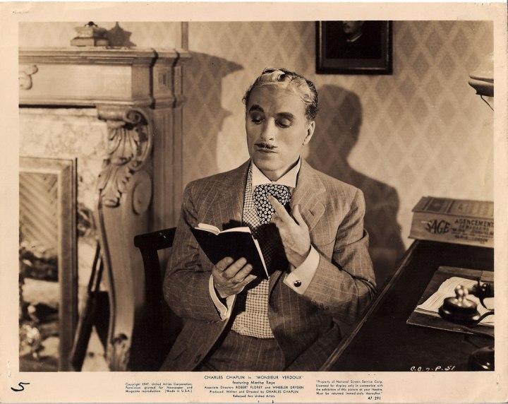 Charlie Chaplin Monsieur Verdoux lobby card