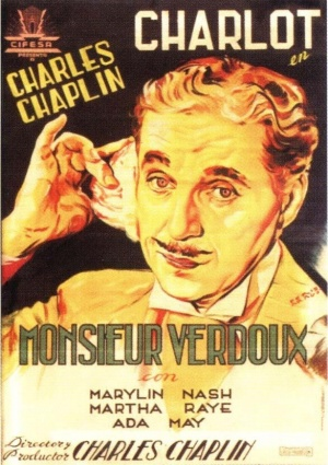 Charlie Chaplin Monsieur Verdoux poster