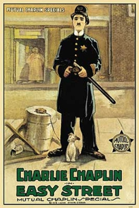 Easy Street (Chaplin) poster