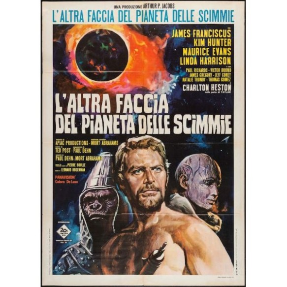 beneath the planet of the apes Italian poster