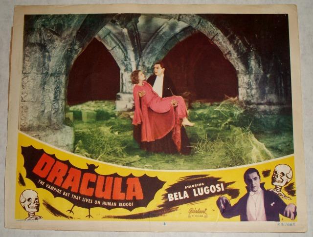 Dracula 1931 lobby card