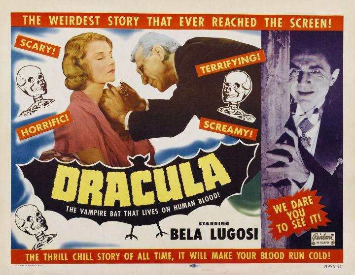 Dracula 1931 lobby Changler Lugosi Sloan