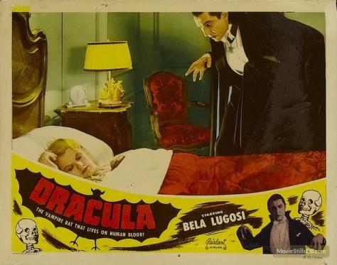 Dracula Lobby card