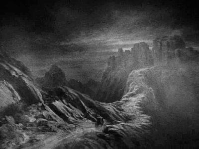 Dracula matte painting