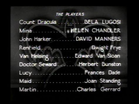 dracula the players