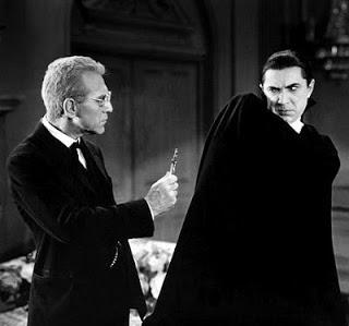 Dracula Van Helsing Vampire showdown