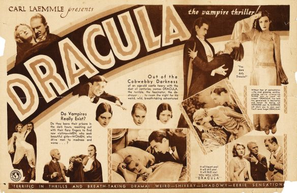 Dracula1931 sepia one sheet