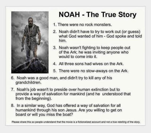 NOAH ANTI MOVIE PROPAGANDA