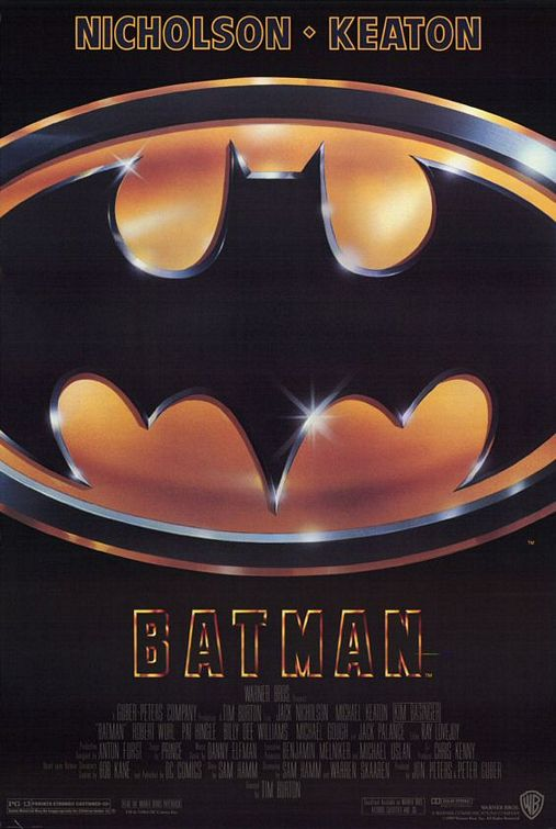 Batman 1989 poster