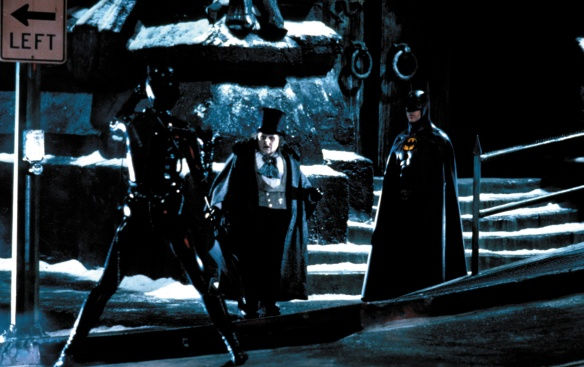 BATMAN RETURNS DARK TRIO