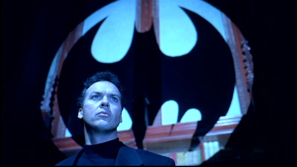 BATMAN RETURNS KEATON AS WAYNE