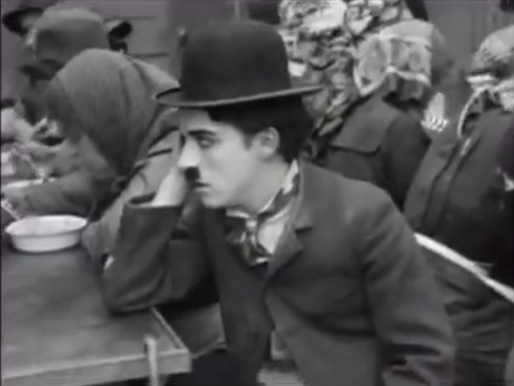 Chaplin in The Immigrant