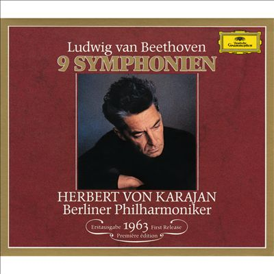 KARAJAN THE FAMOUS BEETHOVEN CYCLE