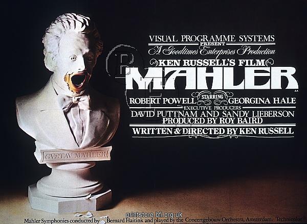 Ken Russell Mahler (1974) ad