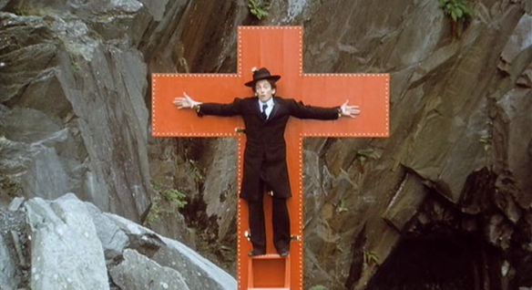 Ken Russell Mahler . mahler crucified