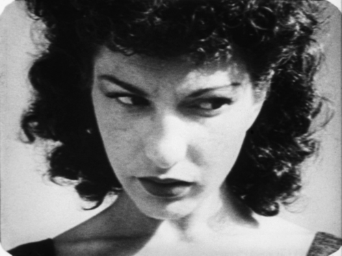 Maya Deren At Land closeup