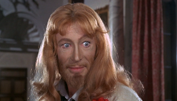 Peter O' Toole as JC in The Ruling Class 1972