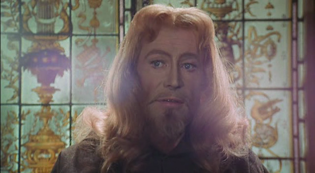 Peter O' Toole as Jesus Christ in The Ruling Class